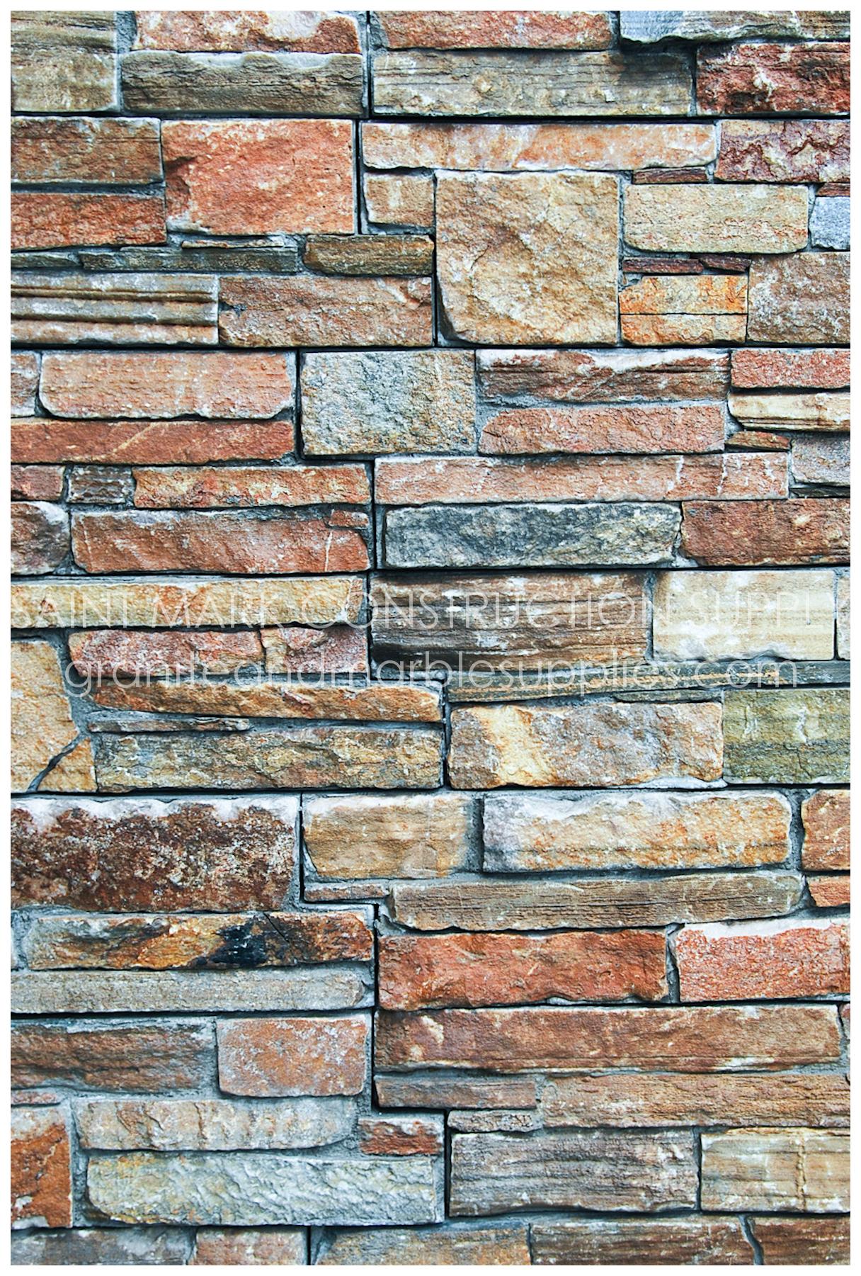 Decorative Natural Stones Saint Mark Construction Supply